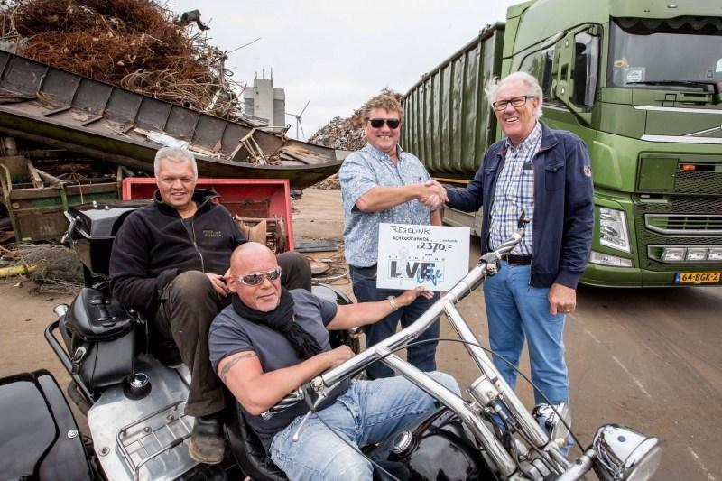 DE BRUG: Heavy metal actie Regelink schroothandel levert fors bedrag op