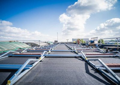 Voorbereiding zonnepanelen